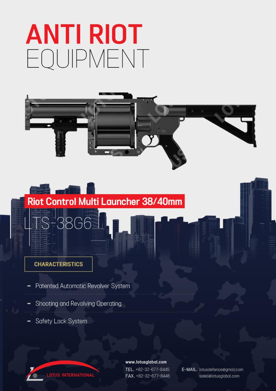 Riot Control Multi Launcher