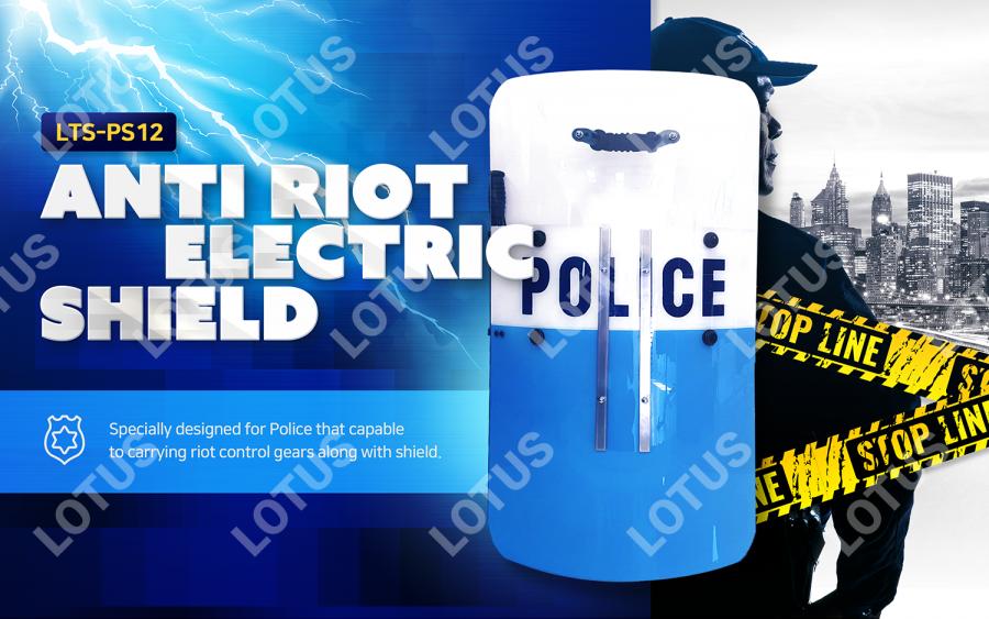 Anti Riot Electric Shield